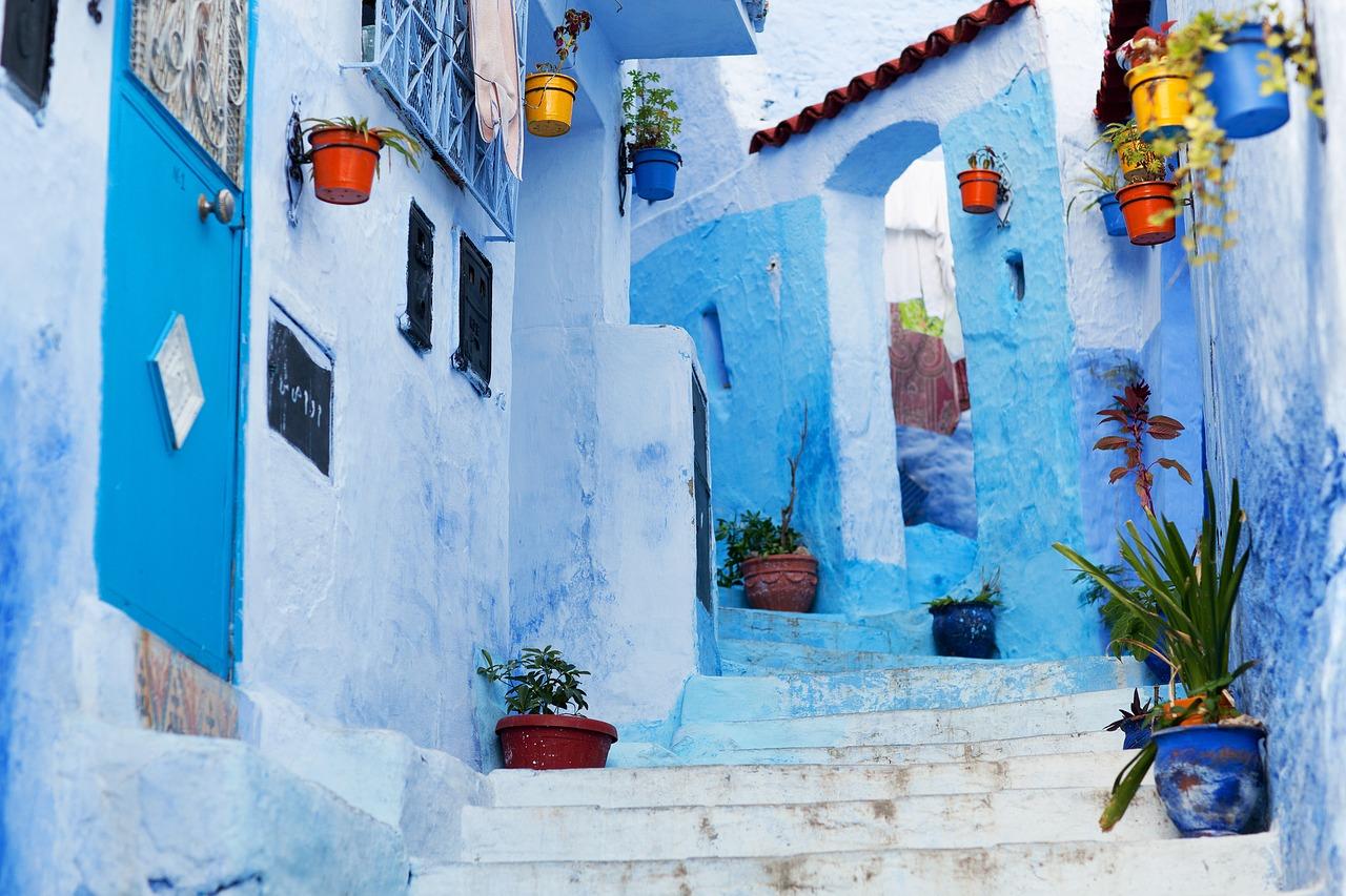 Maroko – szafszawan niebieskie miasto